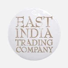 East India Trading Company Ornament (Round)