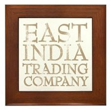 East India Trading Company Framed Tile