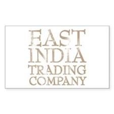 East India Trading Company Rectangle Decal