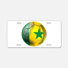 Senegal Football Aluminum License Plate