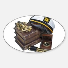 Captain's Hat, Sextant, Telescope, Compass and Boo