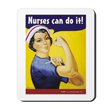 Nurses Can Do it! Mousepad