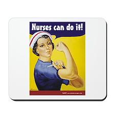 Nurses Can Do it! Mousepad
