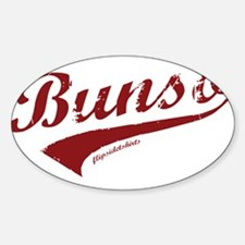 Bunso Sticker (Oval)