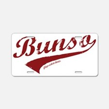 Bunso Aluminum License Plate