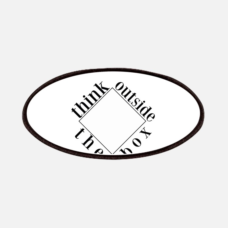 Think Outside the Box Patches