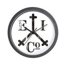 East India Trading Company Logo Wall Clock