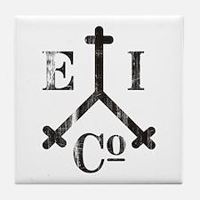 East India Trading Company Logo Tile Coaster