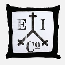 East India Trading Company Logo Throw Pillow