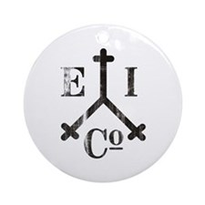 East India Trading Company Logo Ornament (Round)