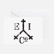 East India Trading Company Logo Greeting Cards (Pa
