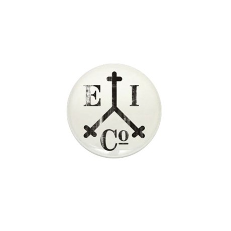 East India Trading Company Logo Mini Button
