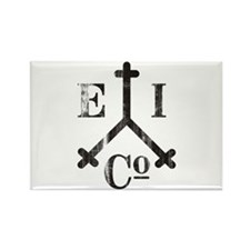 East India Trading Company Logo Rectangle Magnet (
