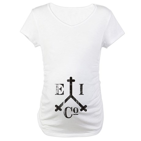 East India Trading Company Logo Maternity T-Shirt
