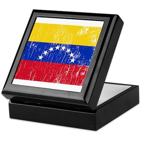 Vintage Venezuela Keepsake Box