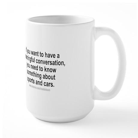 MAN LAW Large Mug
