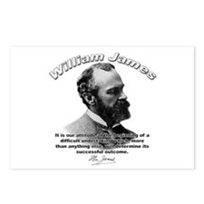 William James 07 Postcards (Package of 8)