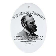 William James 07 Oval Ornament