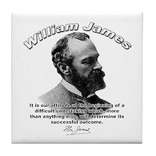 William James 07 Tile Coaster