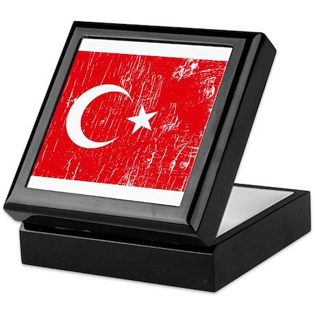 Vintage Turkey Keepsake Box