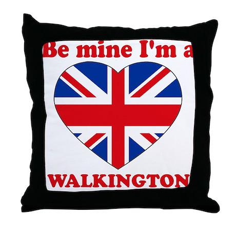 Walkington, Valentine's Day Throw Pillow