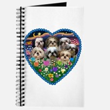 Shih Tzus in Heart Garden Journal