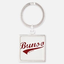 Bunso Square Keychain