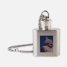Monument and grave of Sitting Bull, Flask Necklace