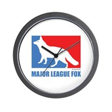 ML Fox Wall Clock