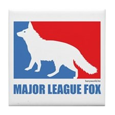 ML Fox Tile Coaster