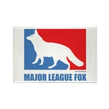 ML Fox Rectangle Magnet (10 pack)