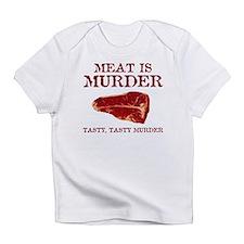 Meat is Tasty Murder Infant T-Shirt