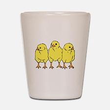 Chicks Shot Glass