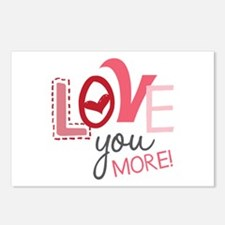 Love You More! Postcards (Package of 8)