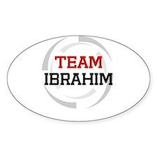 Ibrahim Oval Decal