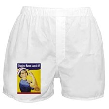 Student Nurses can do it! Boxer Shorts