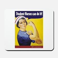 Student Nurses can do it! Mousepad