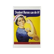 Student Nurses can do it! Rectangle Magnet