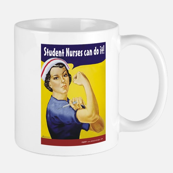 Student Nurses can do it! Mug