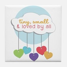 Loved By All Tile Coaster