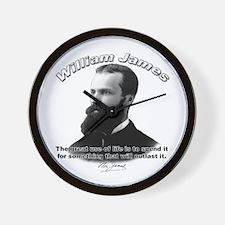 William James 10 Wall Clock