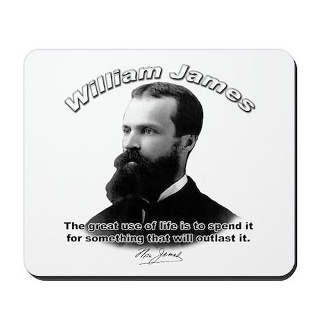 William James 10 Mousepad