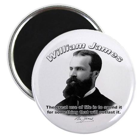 """William James 10 2.25"""" Magnet (100 pack)"""