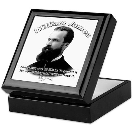 William James 10 Keepsake Box