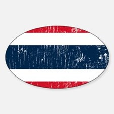 Vintage Thailand Oval Decal