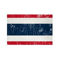 Vintage Thailand Rectangle Magnet