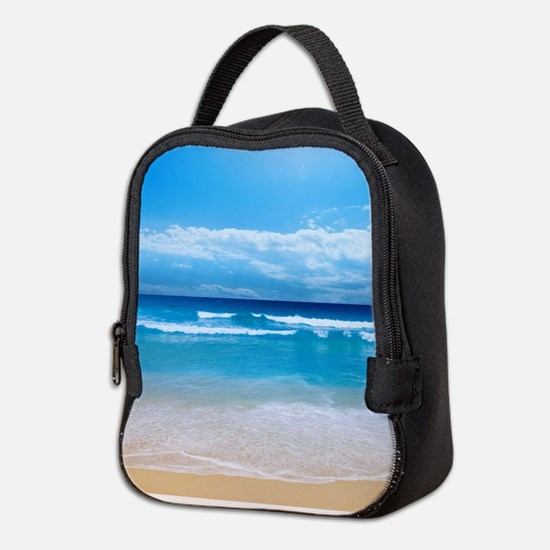Tropical Wave Neoprene Lunch Bag