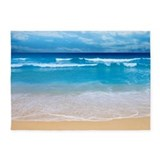 Tropical wave 5x7 Rugs