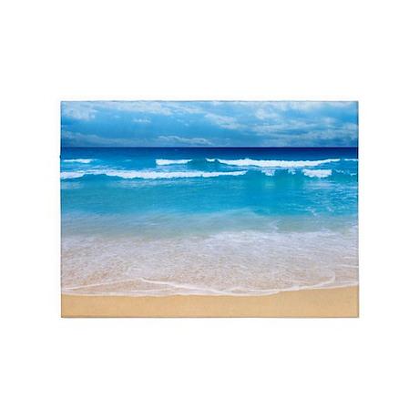 Tropical Wave 5u0027x7u0027Area Rug