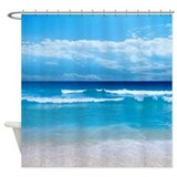 Ocean view Shower Curtains